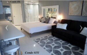 Room #151- King Fantasy room with oversized shower $833.11