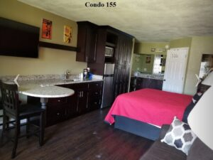 Room #155- King Fantasy room with peek-a-boo shower $833.11